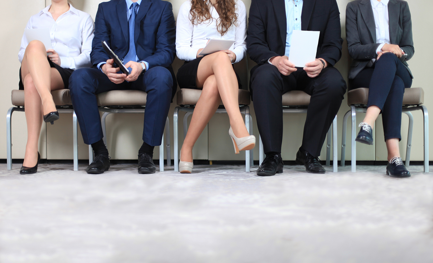 Hospitality applicants waiting for job interview - Extended Stay Jobs